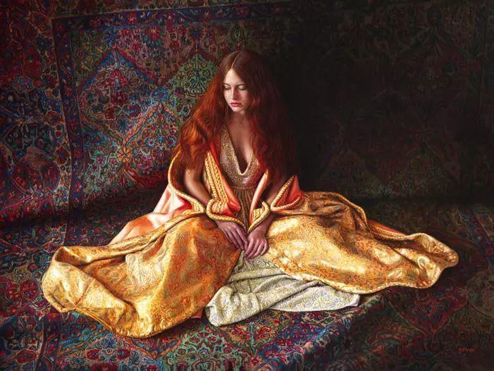 油画世界 美国道格拉斯霍夫曼作品插图21