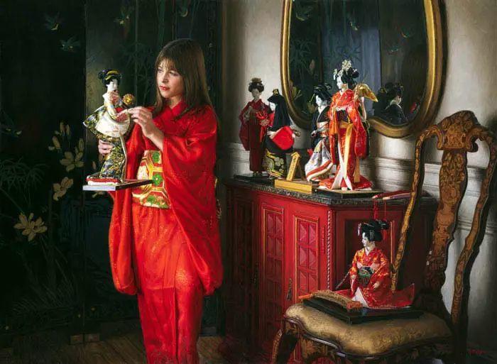 油画世界 美国道格拉斯霍夫曼作品插图25