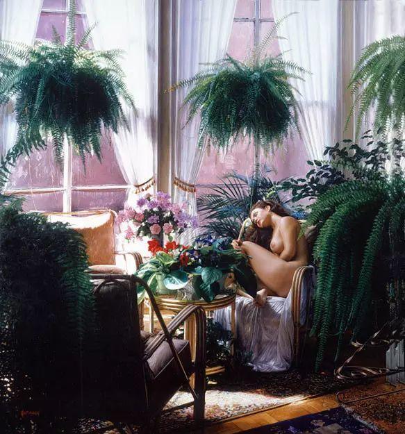 油画世界 美国道格拉斯霍夫曼作品插图55