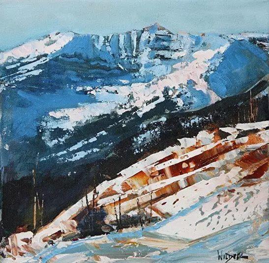 油画世界 加拿大画家不一样的风景画插图1