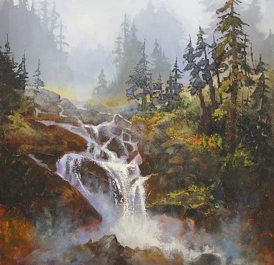 油画世界 加拿大画家不一样的风景画插图5