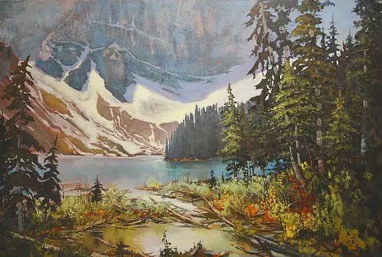 油画世界 加拿大画家不一样的风景画插图7