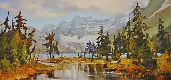油画世界 加拿大画家不一样的风景画插图9