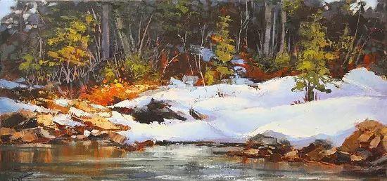 油画世界 加拿大画家不一样的风景画插图11