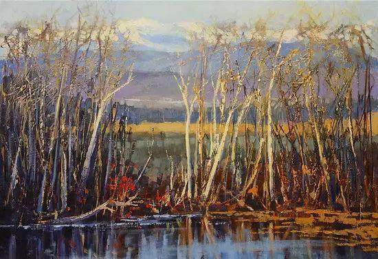 油画世界 加拿大画家不一样的风景画插图15