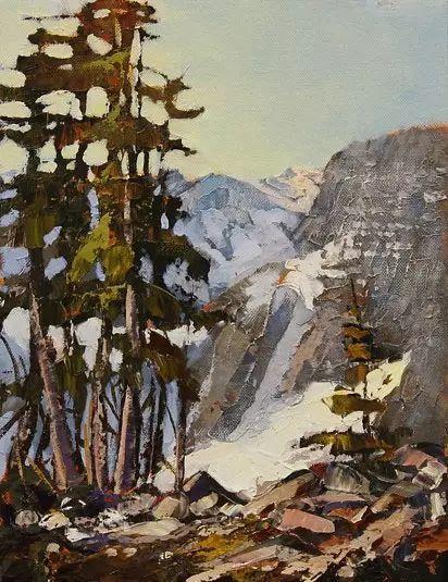 油画世界 加拿大画家不一样的风景画插图19