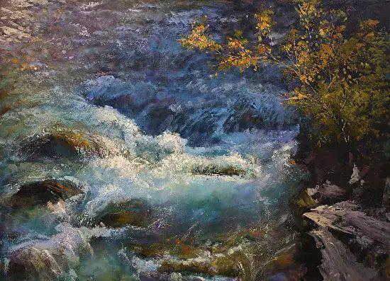 油画世界 加拿大画家不一样的风景画插图35