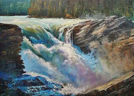 油画世界 加拿大画家不一样的风景画插图37