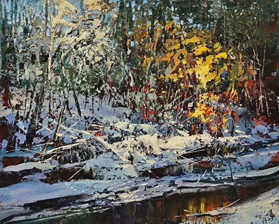 油画世界 加拿大画家不一样的风景画插图41