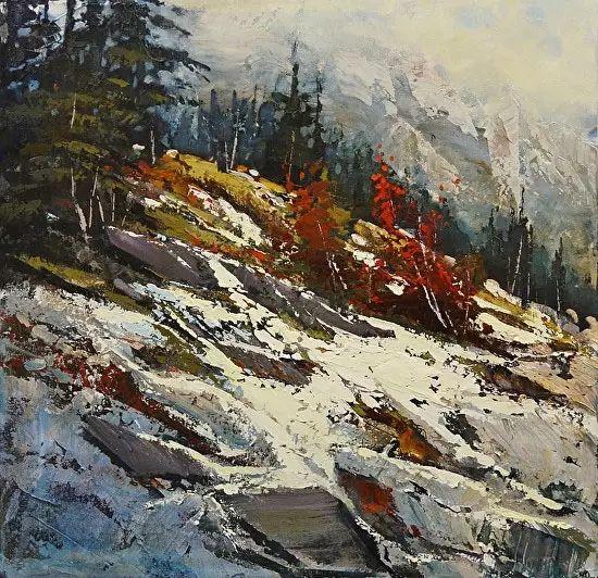 油画世界 加拿大画家不一样的风景画插图43