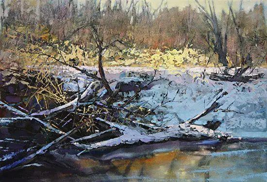 油画世界 加拿大画家不一样的风景画插图49