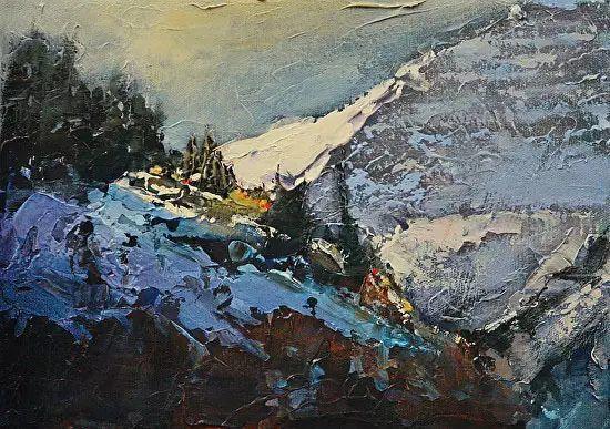 油画世界 加拿大画家不一样的风景画插图53