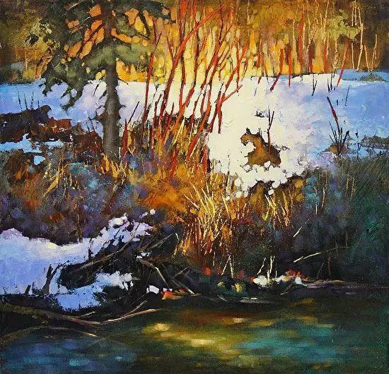 油画世界 加拿大画家不一样的风景画插图63