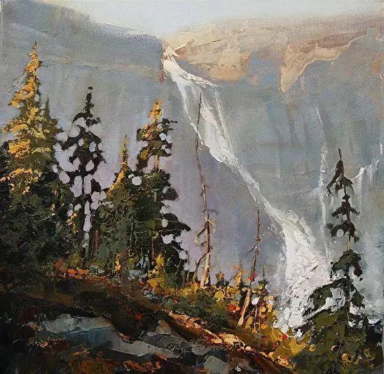 油画世界 加拿大画家不一样的风景画插图69