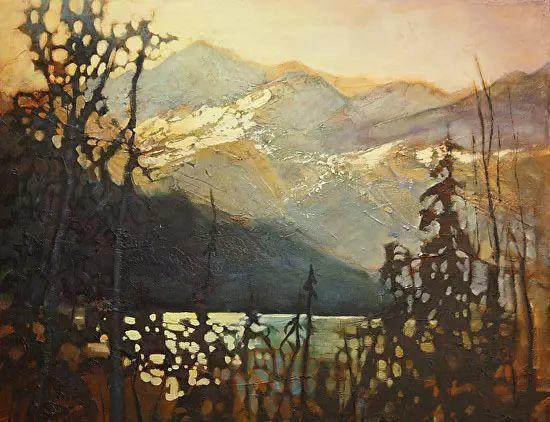 油画世界 加拿大画家不一样的风景画插图75