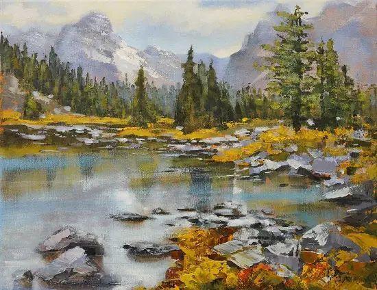 油画世界 加拿大画家不一样的风景画插图77