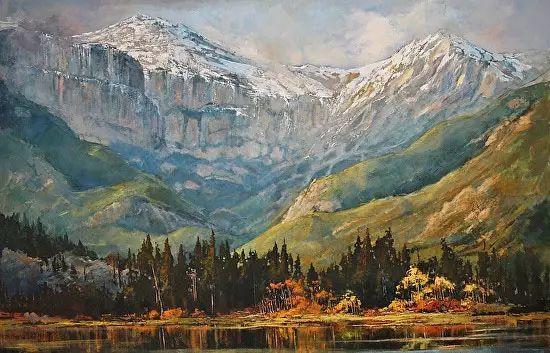 油画世界 加拿大画家不一样的风景画插图83