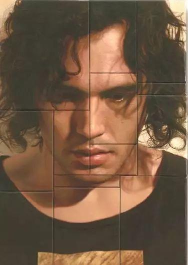 油画世界 裹在塑料薄膜里的超写实人物肖像画插图25