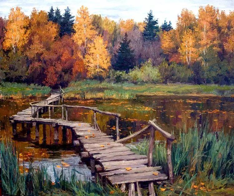 油画世界 俄罗斯精美风景油画欣赏插图5