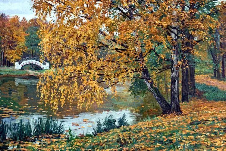 油画世界 俄罗斯精美风景油画欣赏插图15
