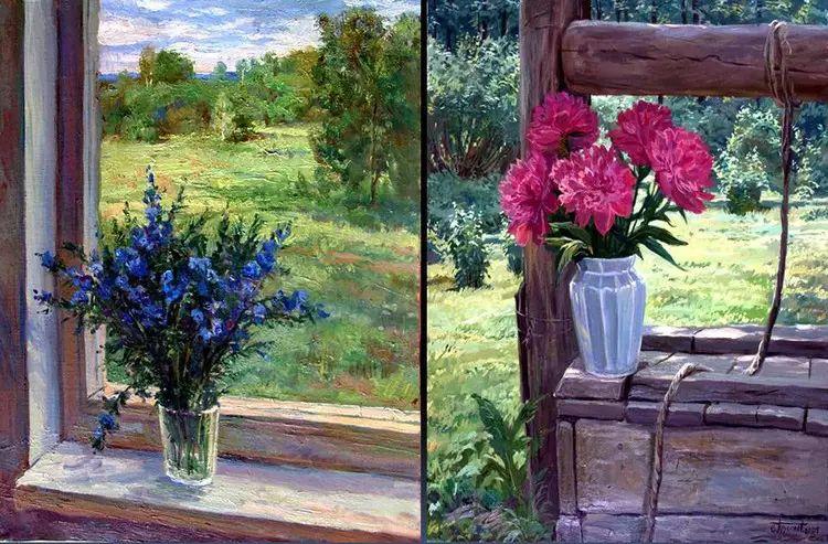 油画世界 俄罗斯精美风景油画欣赏插图17