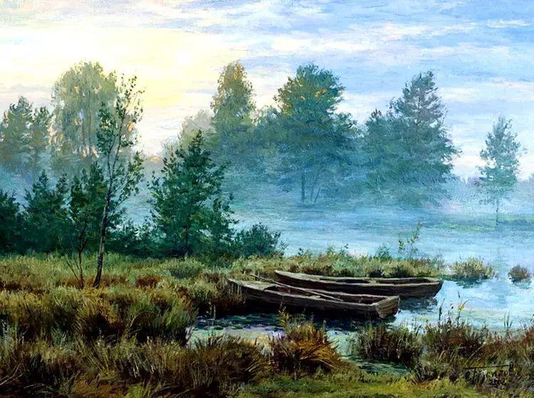 油画世界 俄罗斯精美风景油画欣赏插图27
