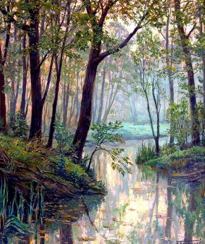 油画世界 俄罗斯精美风景油画欣赏插图33