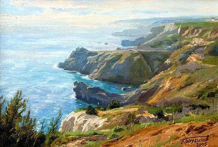 油画世界 俄罗斯精美风景油画欣赏插图39