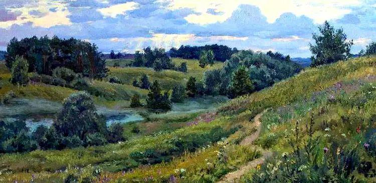 油画世界 俄罗斯精美风景油画欣赏插图41