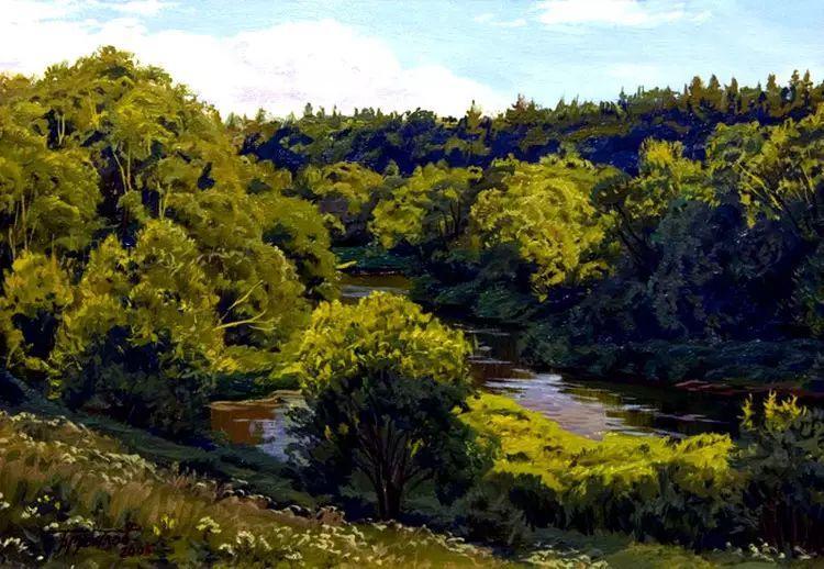 油画世界 俄罗斯精美风景油画欣赏插图45