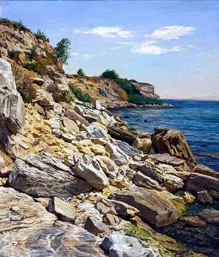 油画世界 俄罗斯精美风景油画欣赏插图55
