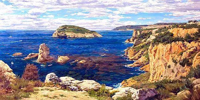 油画世界 俄罗斯精美风景油画欣赏插图59