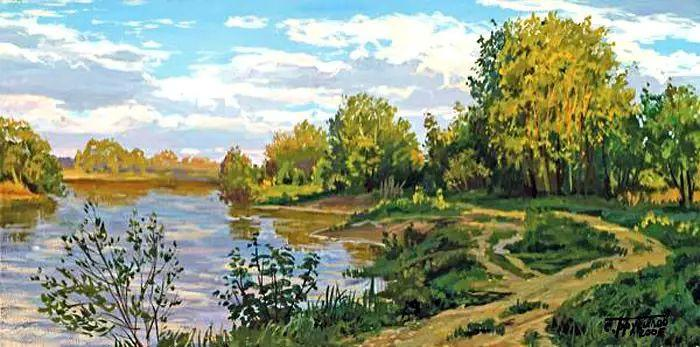 油画世界 俄罗斯精美风景油画欣赏插图61