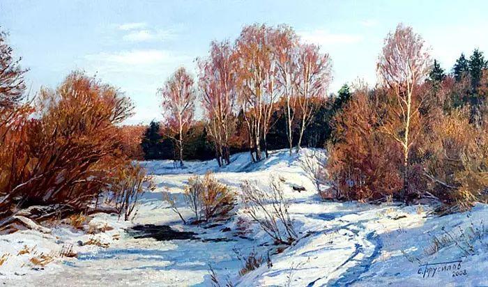 油画世界 俄罗斯精美风景油画欣赏插图63