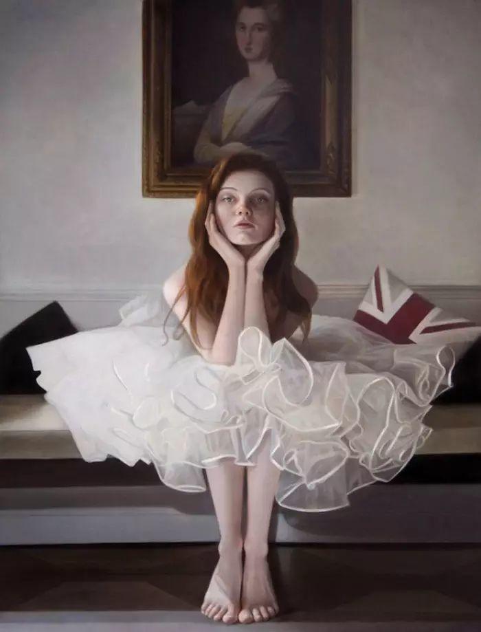 英国女画家玛丽人物绘画作品插图1
