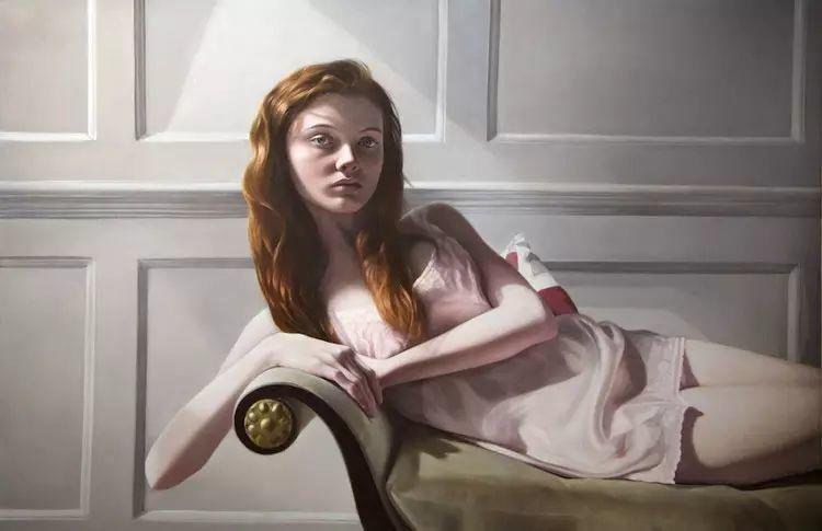 英国女画家玛丽人物绘画作品插图3
