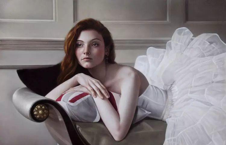 英国女画家玛丽人物绘画作品插图5