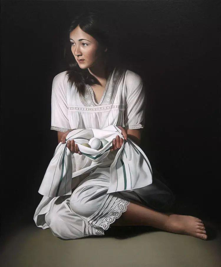 英国女画家玛丽人物绘画作品插图7
