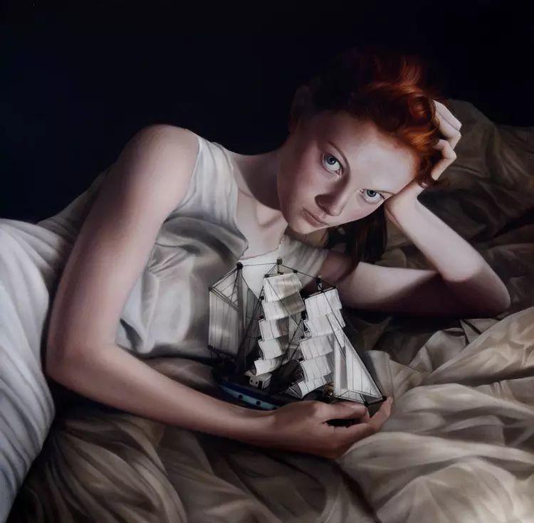 英国女画家玛丽人物绘画作品插图31