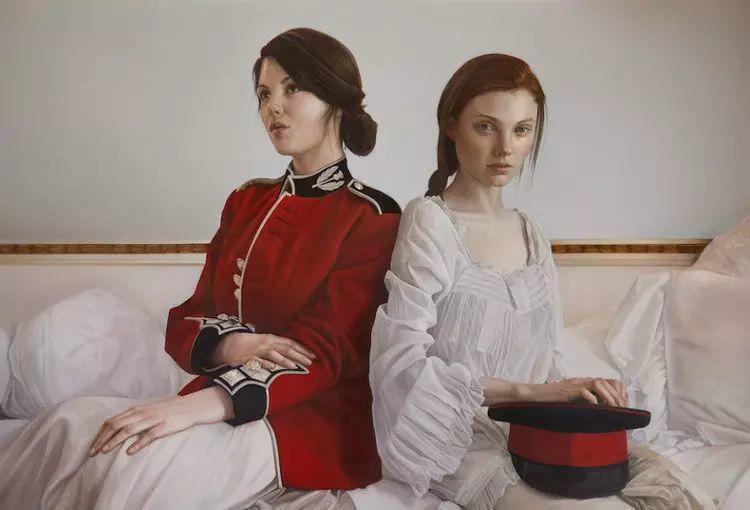 英国女画家玛丽人物绘画作品插图55