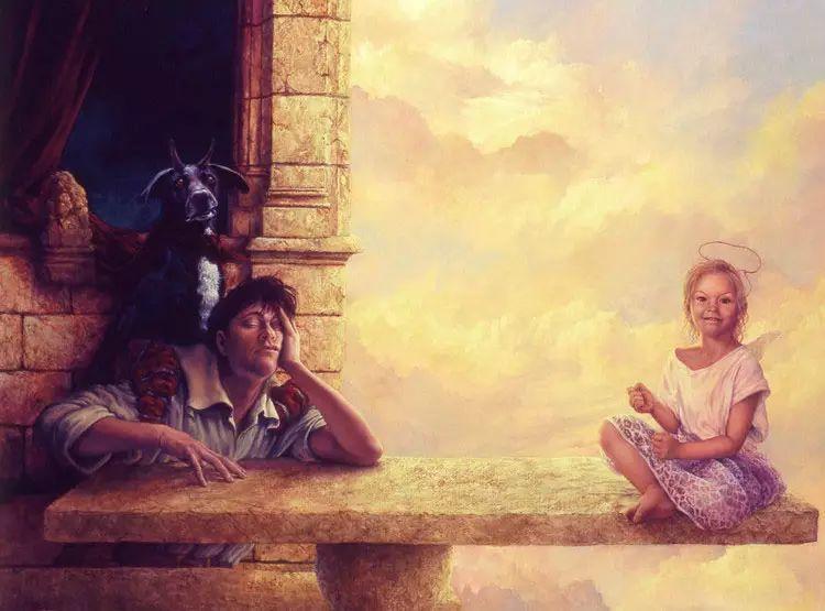 油画世界 荷兰rene zwagawas绘画作品插图29