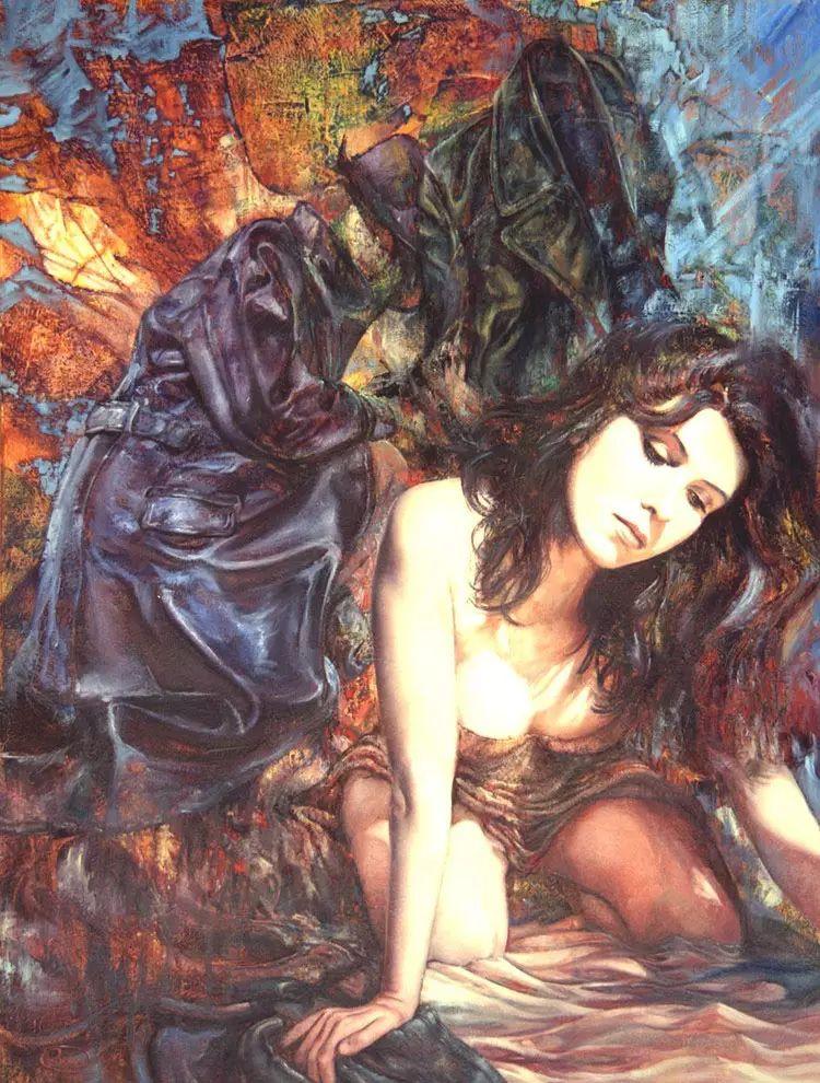 油画世界 荷兰rene zwagawas绘画作品插图33