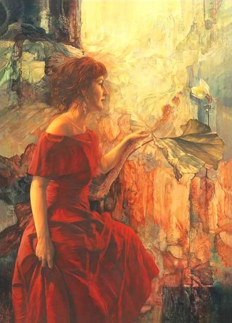 油画世界 荷兰rene zwagawas绘画作品插图43