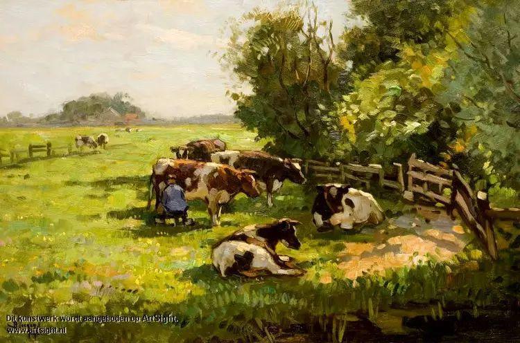 荷兰Ben Viegers风景油画作品插图7