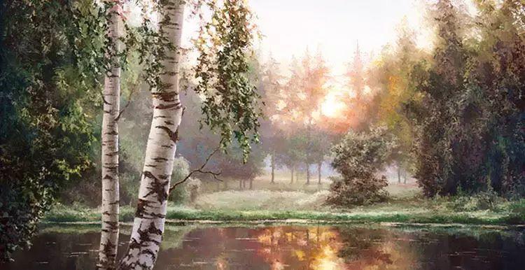 俄罗斯Eugene Burmakin风景画欣赏插图7