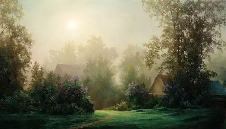 俄罗斯Eugene Burmakin风景画欣赏插图11