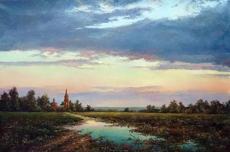 俄罗斯Eugene Burmakin风景画欣赏插图13
