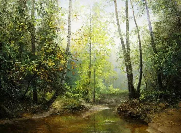 俄罗斯Eugene Burmakin风景画欣赏插图15
