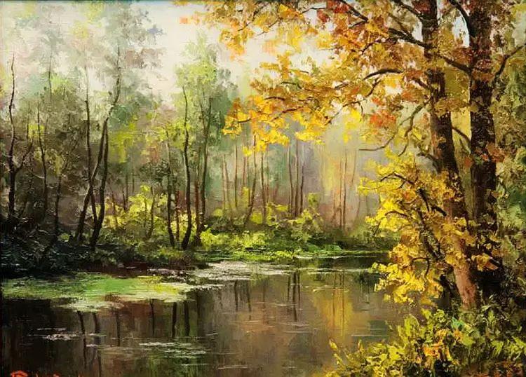 俄罗斯Eugene Burmakin风景画欣赏插图21