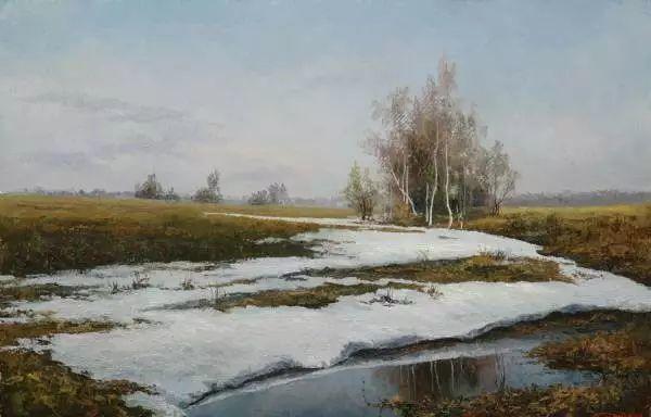 俄罗斯Eugene Burmakin风景画欣赏插图27